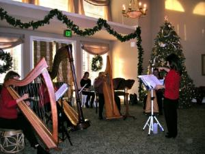 Harp Lessons, Harp Ensemble with Stephanie Bennett