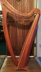 Rare 36 Hummingbird Lupine Cherry Celtic harp Asking $4200